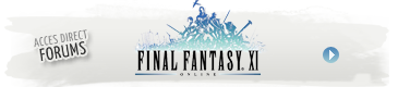 Accéder aux forums de Final Fantasy XI