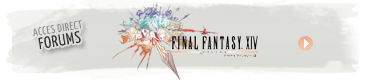 Accéder aux forums de Final Fantasy XIV