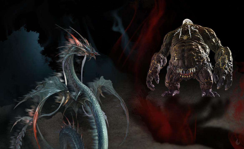 Titan et Leviathan Extreme