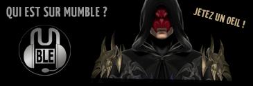 Qui est sur Mumble ?